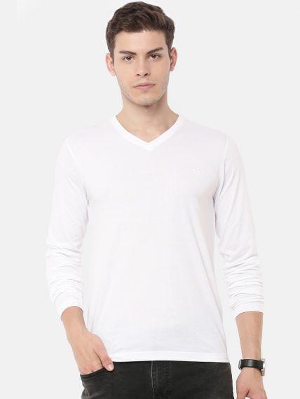Full Sleeve V-Neck T-Shirt (Pack of 2)