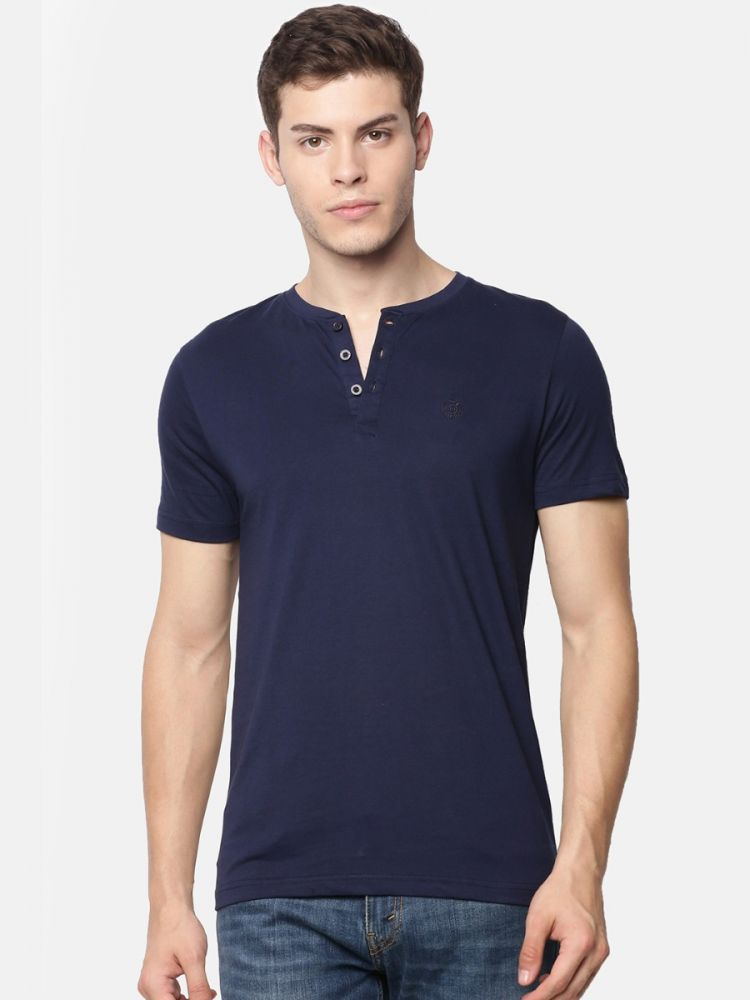 Henley T-Shirt (Pack of 2)