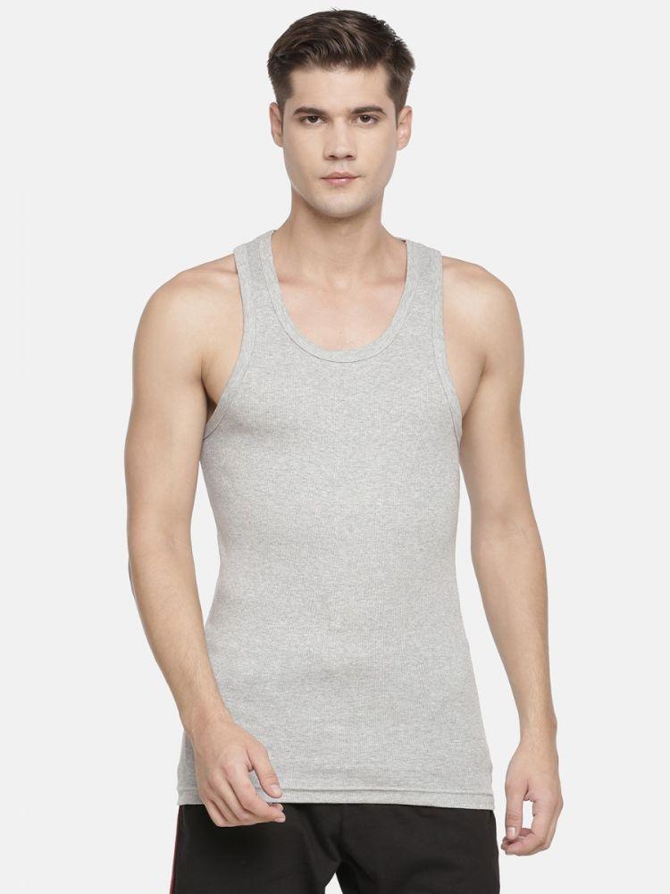 Elexus Ribbed Stretch Classic Vest
