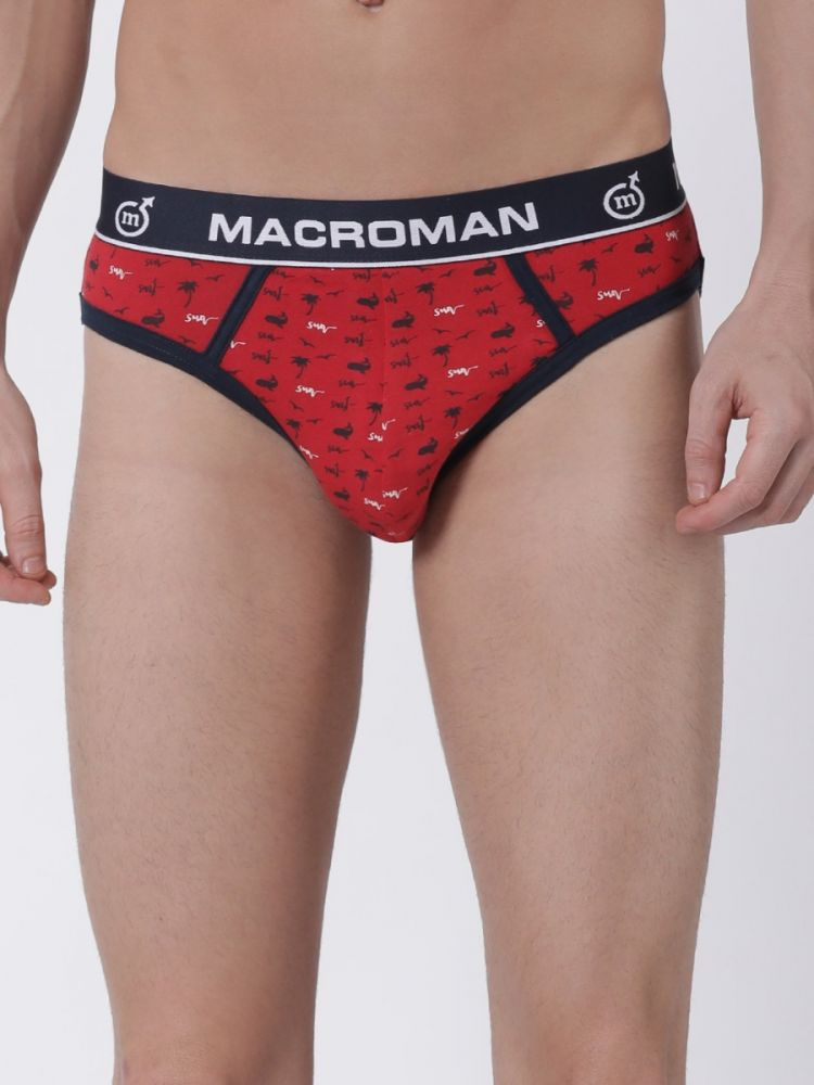 Marine Printed Brief