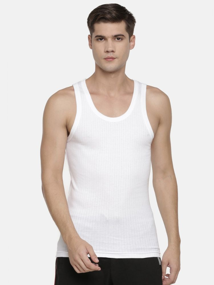 Evano Favourite Ribbed Classic Vest (Pack of 2)