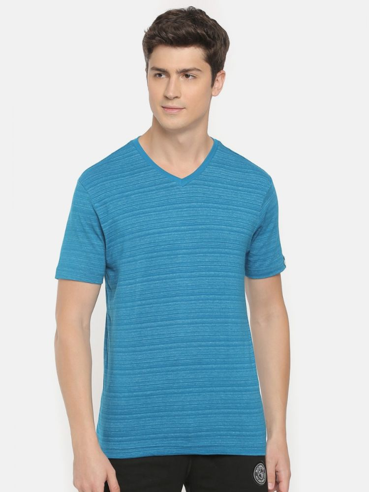 Active Magic Striper V-Neck T-Shirt