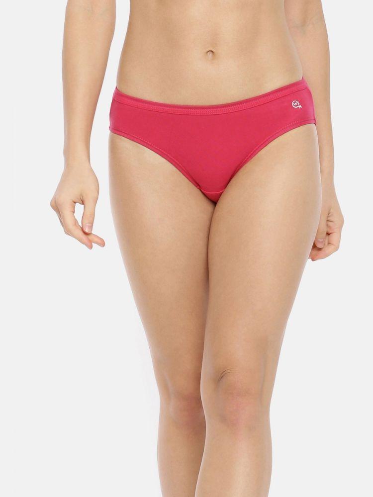 Solid Bikini Panty I.E (Plain) (3 PC Pack)